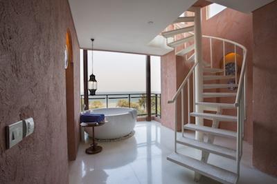 Celestial Suite Balcony Jacuzzi